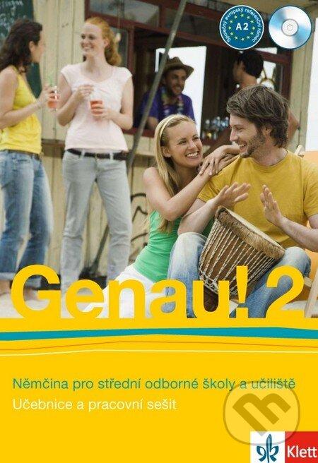 Removu.cz Genau! 2 (Učebnice a pracovní sešit + CD) Image