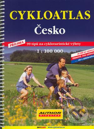 Interdrought2020.com CYKLOATLAS Česko, 1:100 000 Image