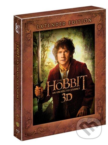 Hobit: Neočekávaná cesta - prodloužená verze 3D+2D Blu-ray
