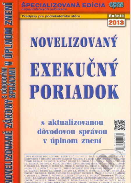 Fatimma.cz Novelizovaný exekučný poriadok Image
