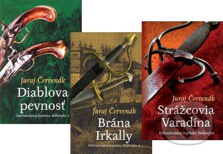 Fatimma.cz Dobrodružstvá kapitána Báthoryho I. (kolekcia troch titulov) Image