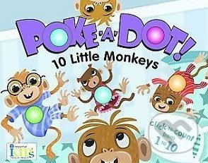 Poke-A-Dot!: 10 Little Monkeys -