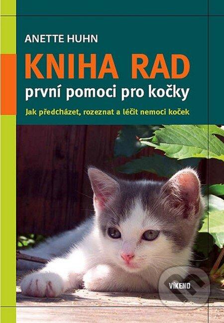Fatimma.cz Kniha rad první pomoci pro kočky Image