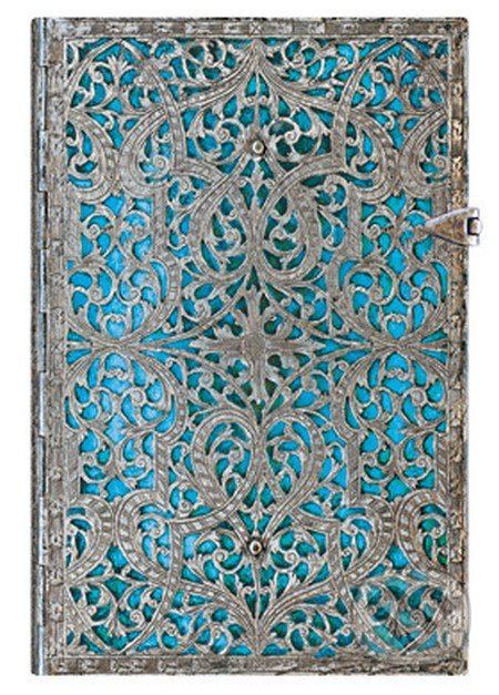 Paperblanks - Maya Blue (mini, linajkový) -