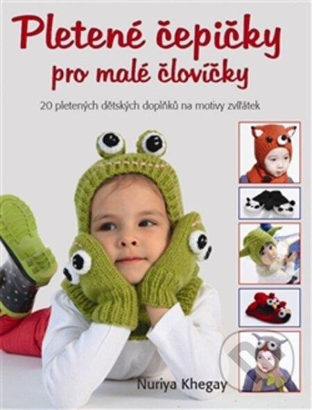 Pletené čepičky pro malé človíčky - Nuriya Khegay