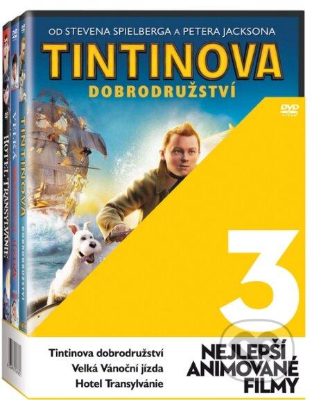 Nejlepší animované filmy DVD