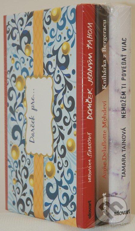 Newdawn.it Vianočný balíček XI - romány pre ženy (Šikulová / Tainová / Delaflotte Mehdevi) Image