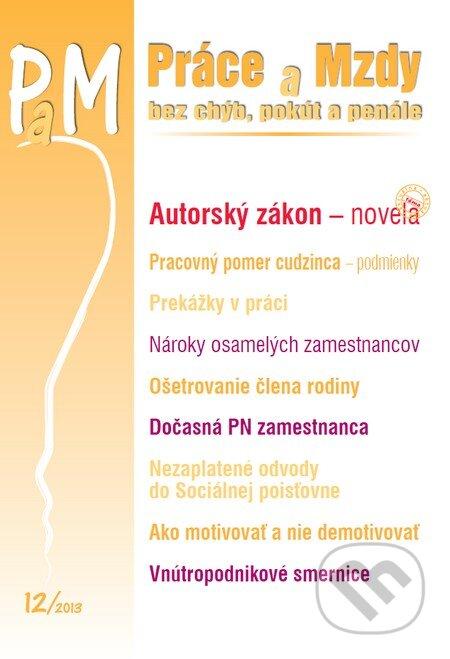 Fatimma.cz Práce a Mzdy 12/2013 Image