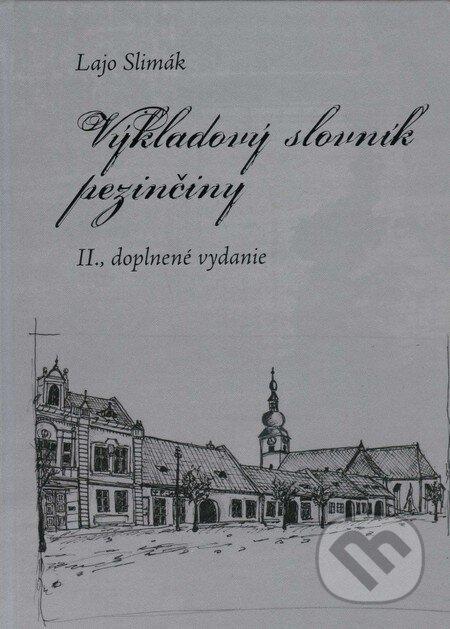 Venirsincontro.it Výkladový slovník pezinčiny Image
