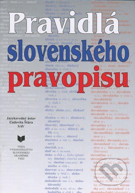 Fatimma.cz Pravidlá slovenského pravopisu Image