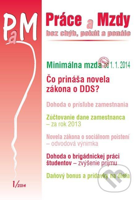 Fatimma.cz Práce a Mzdy 1/2014 Image