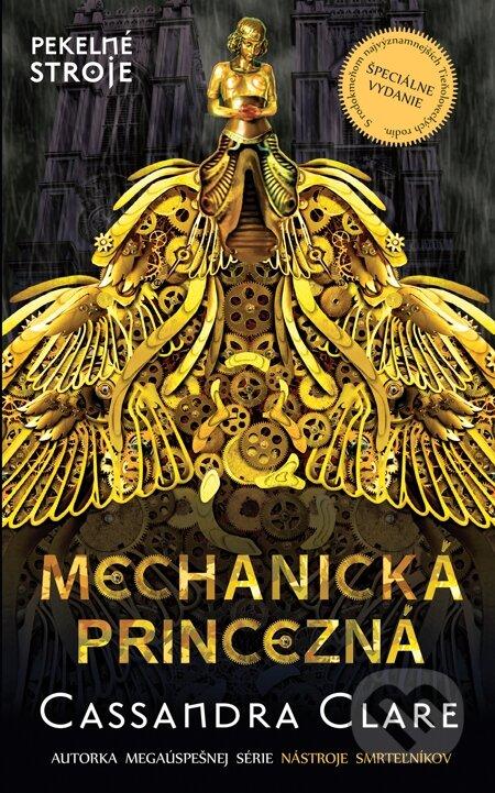 Kniha Mechanická princezna (Cassandra Clare)