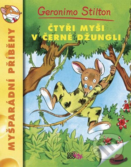 Geronimo Stilton: Čtyři myši v černé džungli - CooBoo