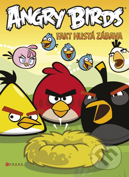 Kniha  Angry Birds  Fakt hustá zábava (CPRESS)  f12e809cde2