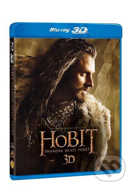 Hobit: Šmakova dračí poušť 3D Blu-ray