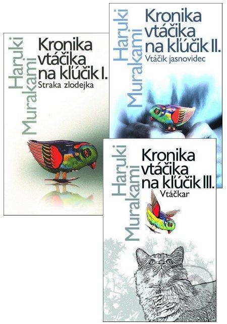 Fatimma.cz Kronika vtáčika na kľúčik (kolekcia troch titulov) Image