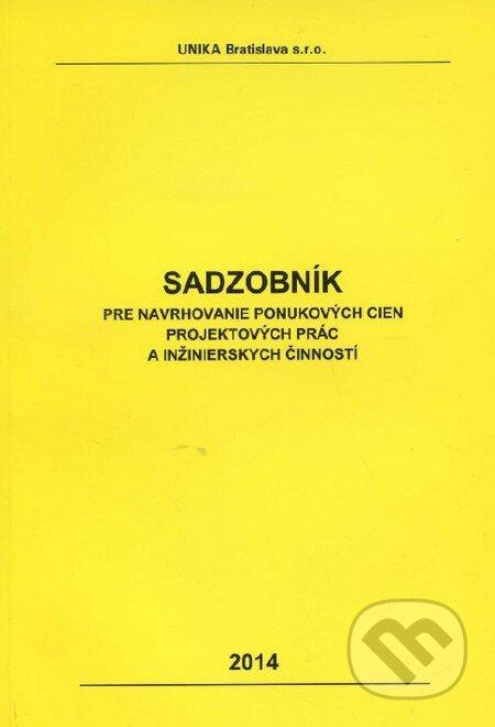 Peticenemocnicesusice.cz Sadzobník pre navrhovanie ponukových cien projektových prác a inžinierskych činností  2014 Image