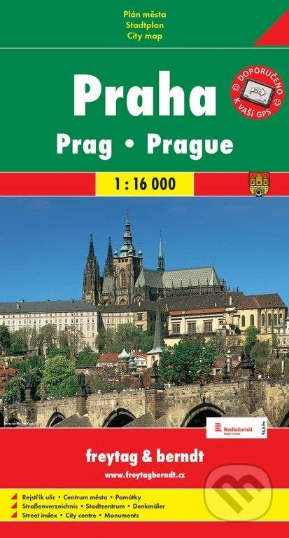 Praha 1:16 000 -