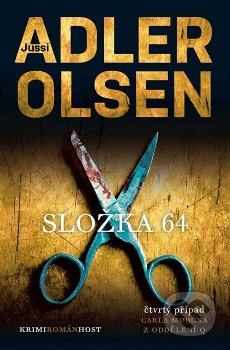 Kniha Složka 64 (Jussi Adler-Olsen)