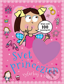 Fatimma.cz Svet princezien - vyfarbuj a nalepuj Image