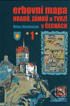 Bthestar.it Erbovní mapa hradů, zámků a tvrzí v Čechách 1 Image