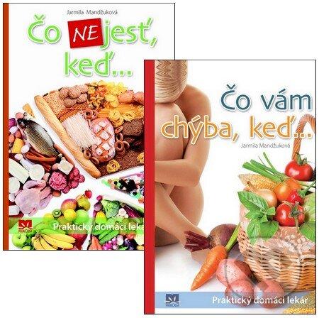 Fatimma.cz Čo nejesť, keď... + Čo vám chýba, keď... (kolekcia dvoch titulov) Image