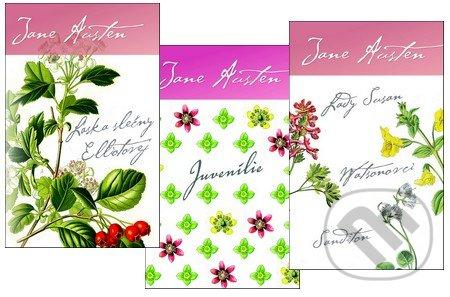 Fatimma.cz Lady Susan, Watsonovci, Sanditon + Láska slečny Elliotovej + Juvenílie (kolekcia troch románov) Image