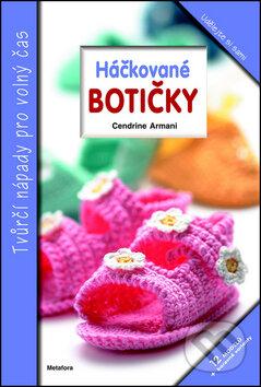 fc0bd374a6f6 Kniha  Háčkované botičky (Cendrine Armani)