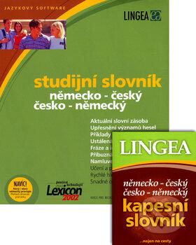 Interdrought2020.com Studijní slovník německo-český a česko-německý na CD-ROM a kapesní slovník Image