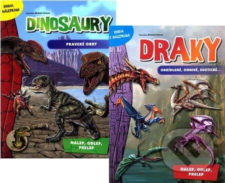 Bthestar.it Dinosaury - praveké obry + Draky - okrídlené, ohnivé, exotické... Image