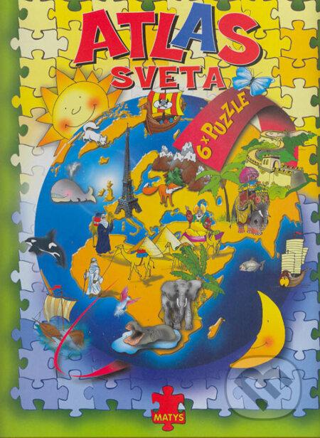 Bthestar.it Ilustrovaný atlas s puzzle Image