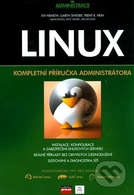 linux kompletní příručka administrátora