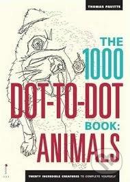 The 1000 Dot-to-Dot Book: Animals - Thomas Pavitte