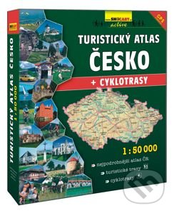 Newdawn.it Turistický atlas Česko 1:50 000 Image