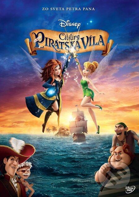 Cililing a pirátska víla DVD
