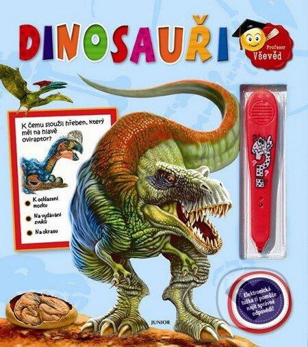 Dinosauři + elektronická tužka - Nakladatelství Junior