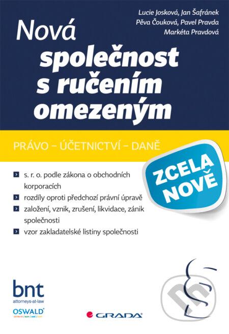 Nová společnost s ručením omezeným - Lucie Josková a kolektív