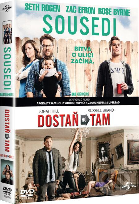 Kolekce Sousedi & Dostaň ho tam DVD