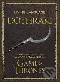 Living Language Dothraki - David J. Peterson