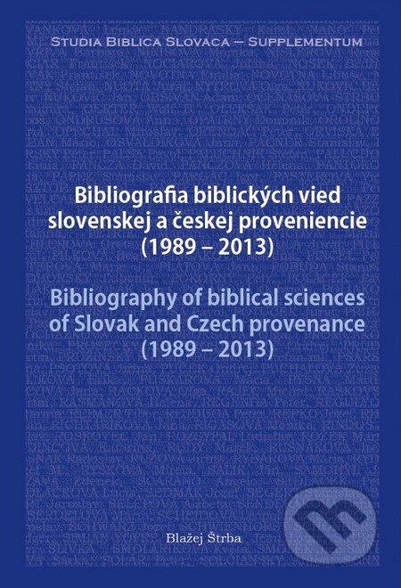 Fatimma.cz Bibliografia biblických vied slovenskej a českej proveniencie (1989 – 2013) Image