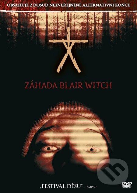 Záhada Blair Witch DVD