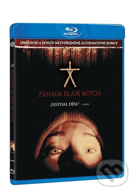 Záhada Blair Witch Blu-ray