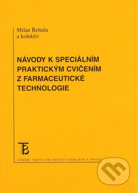 Removu.cz Návody k speciálním praktickým cvičením z farmaceutické technologie Image