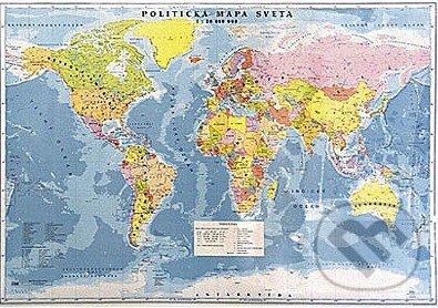 Fatimma.cz Svet - nástenná politická mapa 1:20 000 000 Image