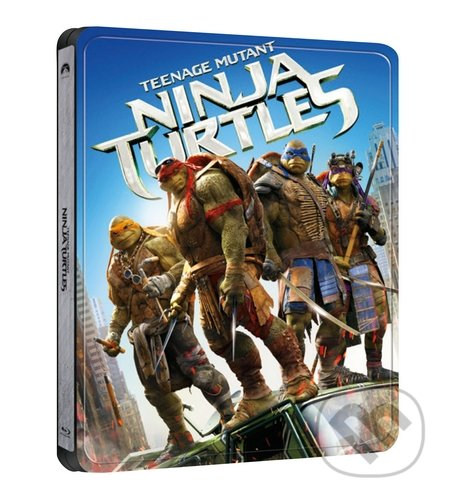 Želvy Ninja 3D Steelbook Steelbook
