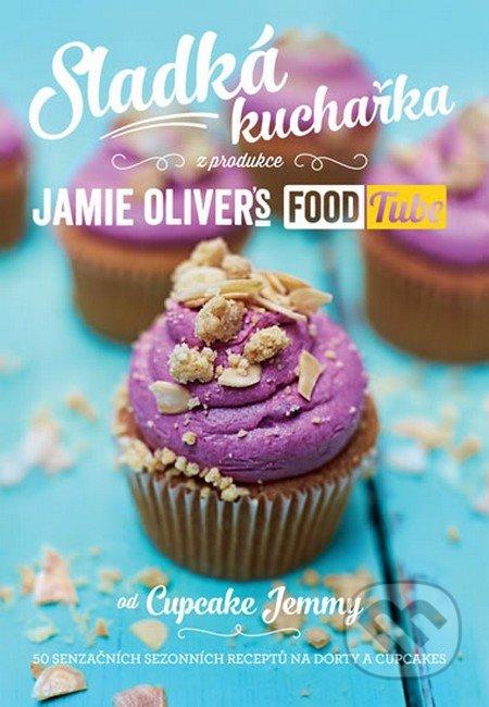 Kniha  Sladká kuchařka - Jamie Oliver s Food Tube (Cupcake Jemma ... 60349fd3518