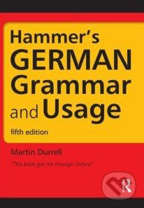 Hammer's German Grammar and Usage - Martin Durrell