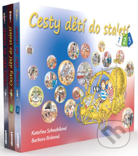 Cesty dětí do staletí (1. - 3. díl) - Slovart CZ
