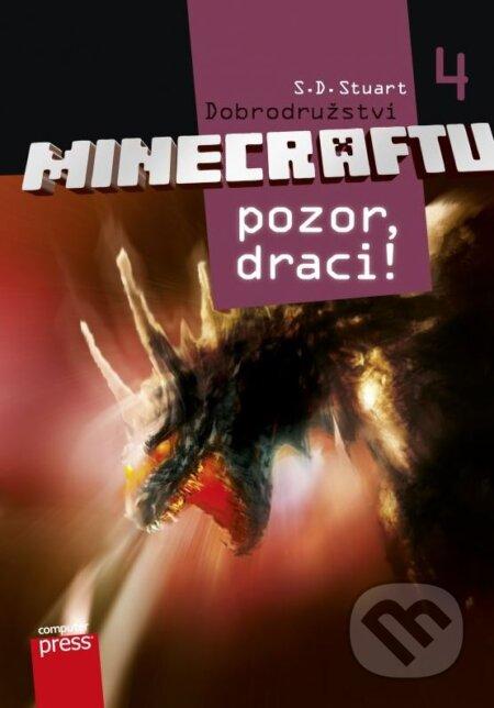 Dobrodružství Minecraftu 4: Pozor, draci! - S.D. Stuart