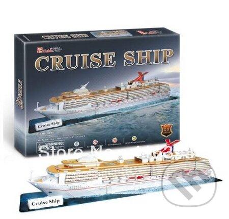 Cruise ship - CubicFun